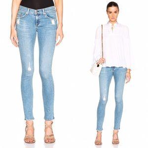 Rag & Bone Distressed Skinny Jeans in Everton